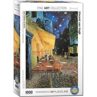 Eurographics Café-Terrasse nachts - Vincent van Gogh in 1000 Puzzle Pieces