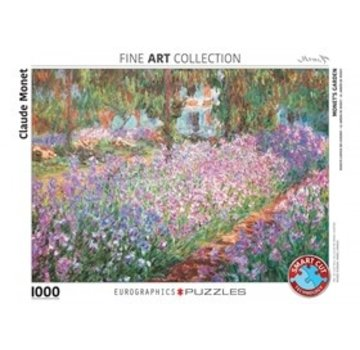 Eurographics Monet's Garden - Claude Monet Puzzel 1000 Stukjes