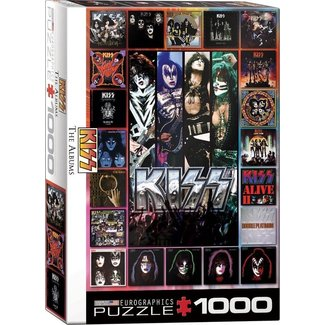 Eurographics KISS The Albums Puzzel 1000 Stukjes