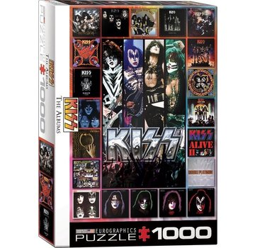 Eurographics The KISS albums 1000 Puzzle Pieces