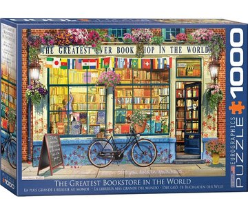 Eurographics The Greatest in the World Bookstore 1000 Puzzle Pieces