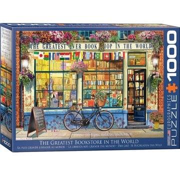 Eurographics The Greatest Bookstore in the World Puzzel 1000 Stukjes