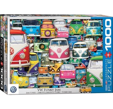 Eurographics VW Funky Jam 1000 Puzzle Pieces