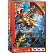 Eurographics Dragon Clan - Anne Stokes Puzzel 1000 Stukjes