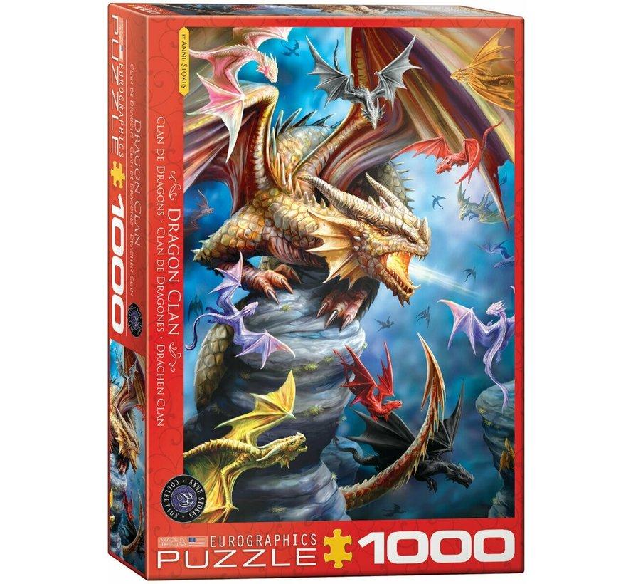 Dragon Clan - Anne Stokes Puzzel 1000 Stukjes
