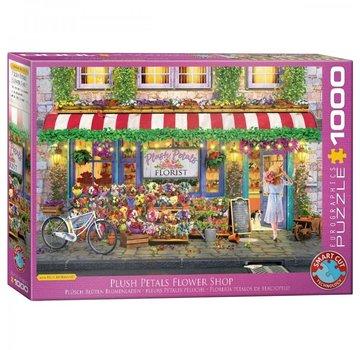 Eurographics Peluche pétales Flower Shop - Paul Normand 1000 Puzzle Pieces