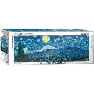 Eurographics Starry Night - Vincent van Gogh Panorama Puzzel 1000 Stukjes
