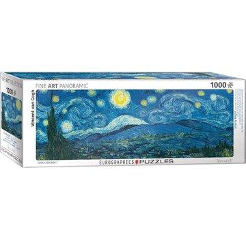 Eurographics Nuit étoilée - Vincent van Gogh Panorama Puzzle 1000 Pièces
