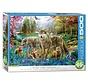 Wolf Lake Fantasy Puzzle Pieces 500XL