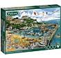 Newquay Harbour Puzzel 1000 Stukjes