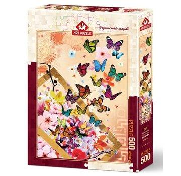Art Puzzle Spring Breeze Puzzel 500 Stukjes