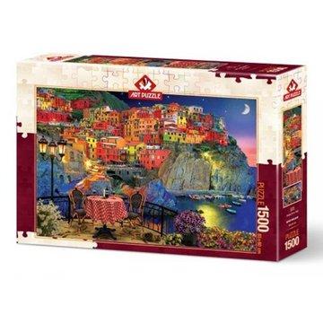 Art Puzzle Cinque Terre Puzzel 1500 Stukjes