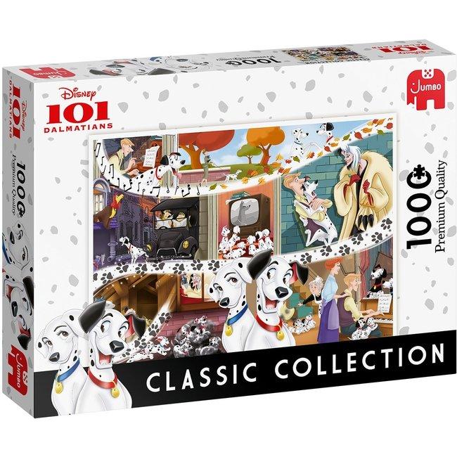 Classic Collection - 101 Dalmatians Puzzel 1000 stukjes