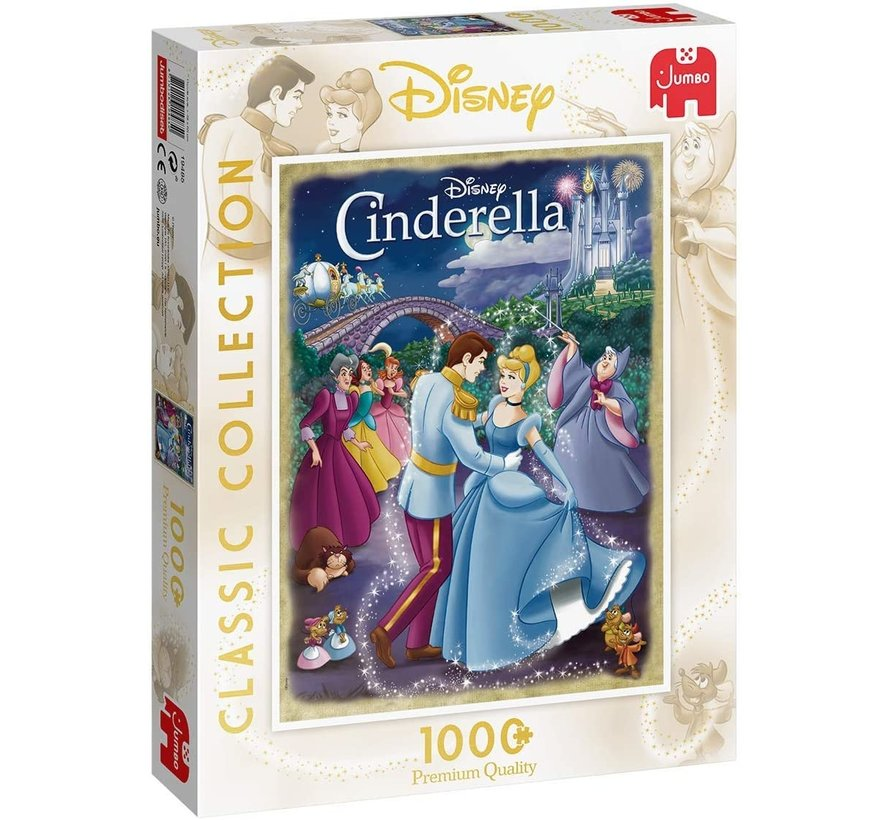 Classic Collection - Cinderella Puzzel 1000 stukjes