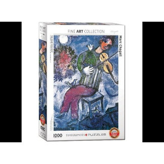 Eurographics Marc Chagall The Blue Violinist Puzzel 1000 Stukjes