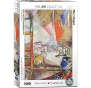 Eurographics Marc Chagall Paris Through the Window 1000 Puzzle Pieces