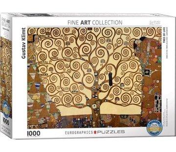 Eurographics Tree of Life - Gustav Klimt Puzzel 1000 Stukjes