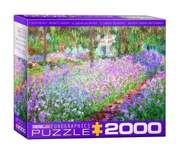 Eurographics Monet´s Garden - Claude Monet Puzzel 2000 Stukjes