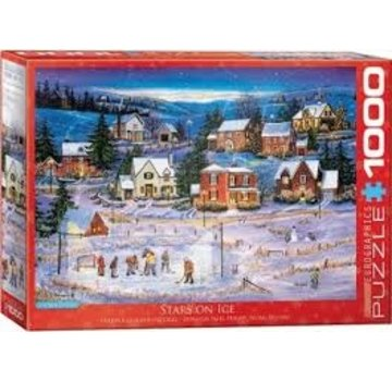 Eurographics Stars on Ice - 1000 Patricia Bourque Pièces Puzzle