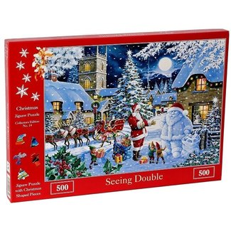 The House of Puzzles Nein. 14 - Puzzle Seeing Double 500 Stück