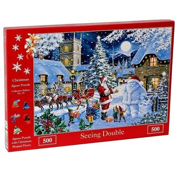 The House of Puzzles Non. 14 - Puzzle Seeing Double 500 pièces