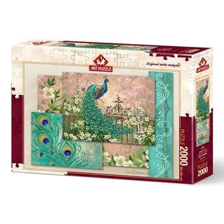 Art Puzzle Jewel of the Garden Puzzle 2000 Stück