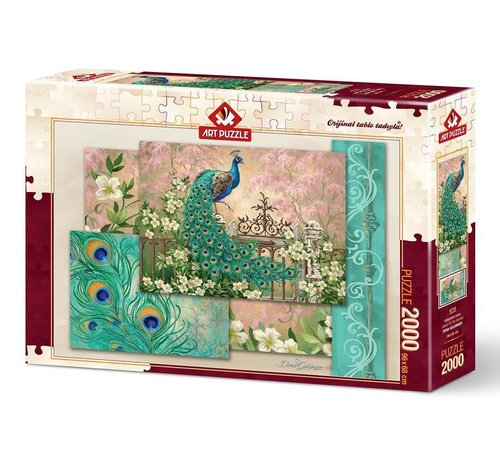 Art Puzzle Jewel of the Garden Puzzel 2000 Stukjes