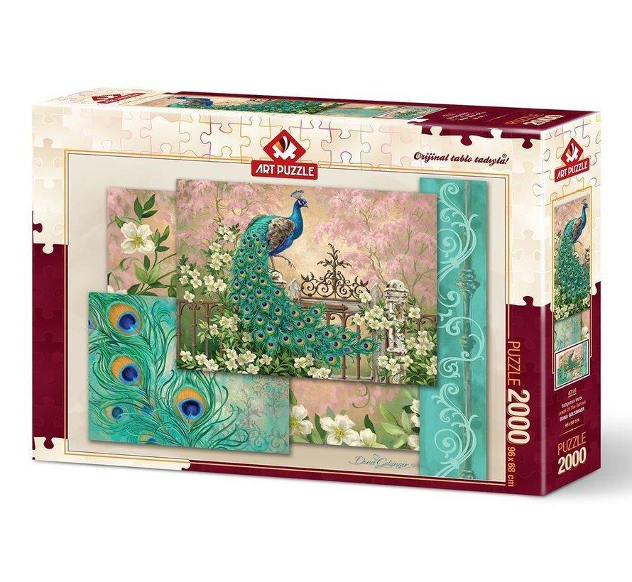 Jewel of the Garden Puzzel 2000 Stukjes