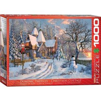 Eurographics Christmas Cottage - Dominic Davison 1000 Puzzle Pieces