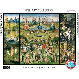 Eurographics The Garden of Earthly Delights - Hieronymus Bosch 1000 Puzzle Pieces