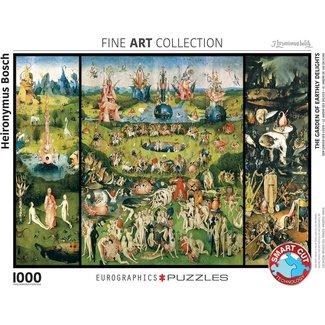 Eurographics The Garden of Earthly Delights - Jheronimus Bosch Puzzel 1000 Stukjes