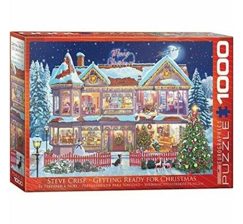 Eurographics Getting Ready for Christmas Puzzel 1000 Stukjes