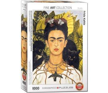 Eurographics Frida Kahlo Puzzel 1000 Stukjes