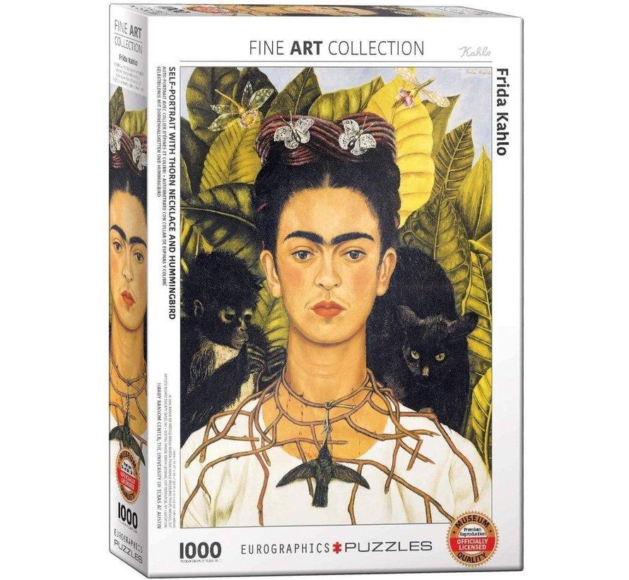 Frida Kahlo Puzzel 1000 Stukjes