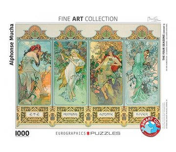 Eurographics Alphonse Mucha Puzzel 1000 Stukjes