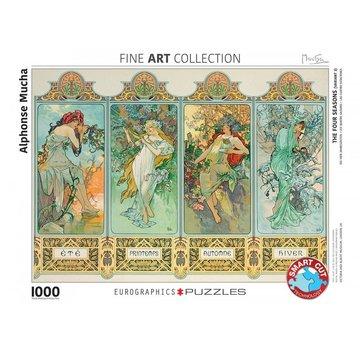 Eurographics Alphonse Mucha 1000 Puzzle Pieces
