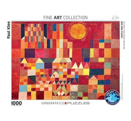 Eurographics Castle and Sun Paul Klee Puzzel 1000 Stukjes