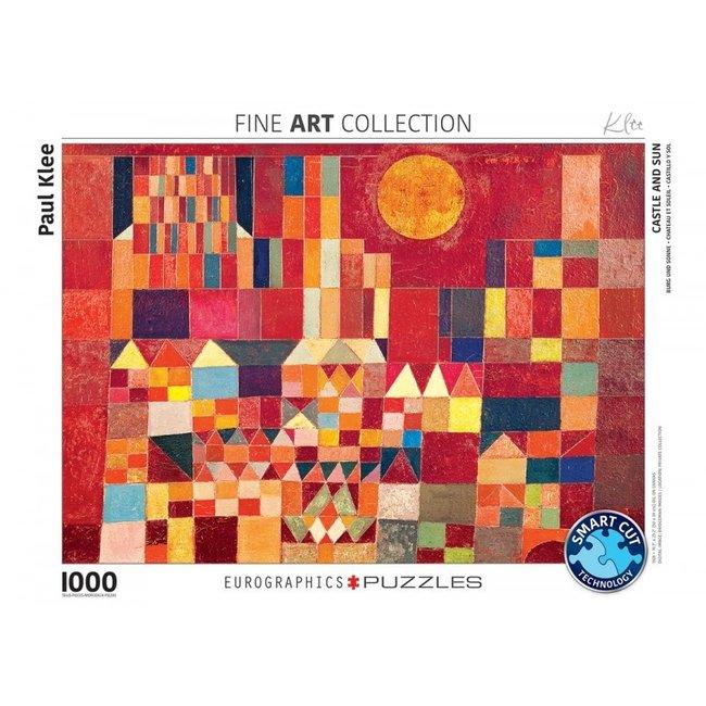 Burg und Sonne Paul Klee 1000 Puzzle Pieces