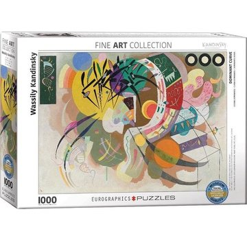 Eurographics Wassily Kandinsky 1000 Puzzle Pieces Dominant Curve