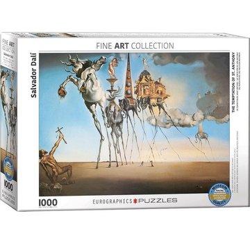 Eurographics Salvador Dali Puzzle Pieces 1000 The Temptation
