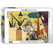 Eurographics Joan Miro Puzzel 1000 Stukjes