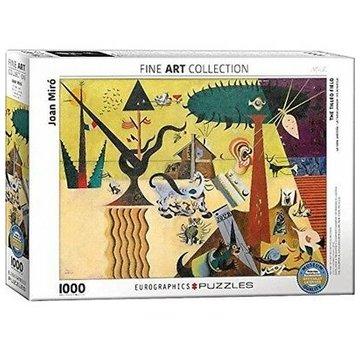 Eurographics Joan Miro 1000 Puzzle Pieces