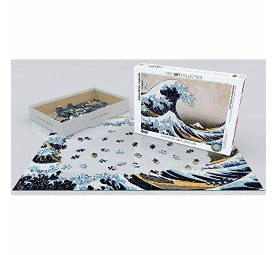 Great Wave Hokusai Puzzel 1000 Stukjes
