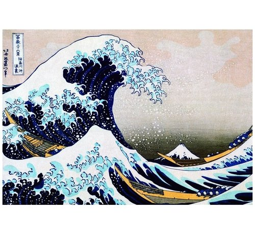 Eurographics Great Wave Hokusai Puzzel 1000 Stukjes