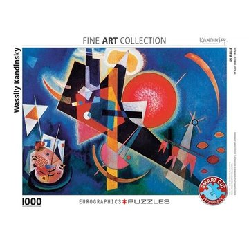 Eurographics Wassily Kandinsky 1000 Puzzle Pieces in Blue