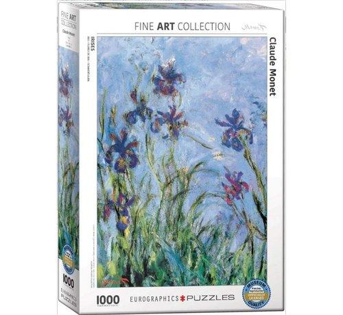 Eurographics Claude Monet Puzzel 1000 Stukjes Irises