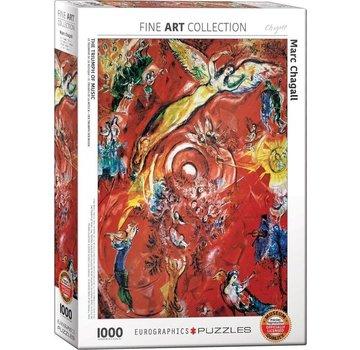 Eurographics Marc Chagall Puzzel 1000 Stukjes The Triumph