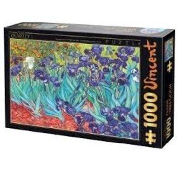 Dtoys van Gogh Puzzel 1000 Stukjes Iris
