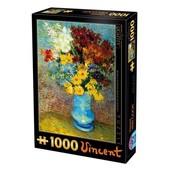 Dtoys van Gogh Puzzel 1000 Stukjes Blauwe Vaas