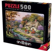 Anatolian Spring Cottage 500 Puzzle Pieces